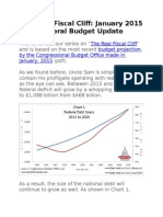 "Key Policy Data The ""Real Fiscal Cliff"" January 2015 Update"