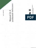 Manual de Derecho Ambiental Mexicano 1a Parte