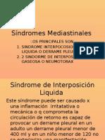 Síndromes Mediastinales