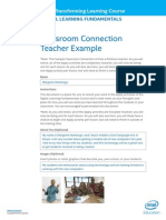 Example Classroom Connection