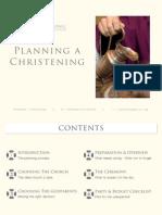 Planning a Christening