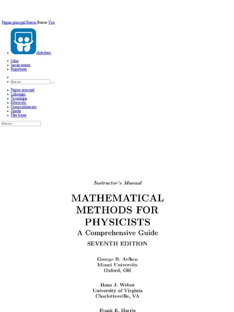 copy of arfken solution determinant integral rh es scribd com arfken weber solutions manual pdf george arfken solution manual