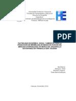 FACTIBILIDAD ECONÓMICA, SOCIAL Y AMBIENTAL PARA LA PRODUCCIÓN DE MERMELADA DE MANGO EN FUNCIÓN DEL MERCADO INTERNACIONAL EN MARCO DEL DESARROLLO SUSTENTABLE EN TINAQUILLO EDO. COJEDES