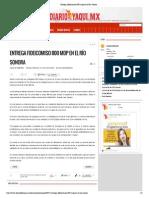 04-02-15  ENTREGA FIDEICOMISO 800 MDP EN EL RÍO SONORA