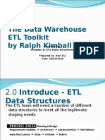 The Data Warehouse ETL Toolkit - Chapter 02