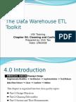The Data Warehouse ETL Toolkit - Chapter 04