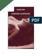 Anaïs Nin, Corazón Cuarteado
