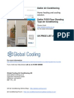 Daikin Floor Standing Air Conditioning FVXS
