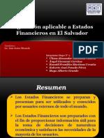 Presentación Legislacion Aplicable a Estados Financieros