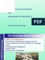 Characteristics of a Drainage Basin & Management of Resources1.Ppt_0