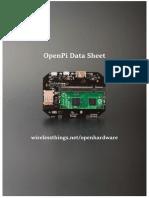 Datasheet-OpenPi