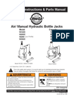 Hydraulic Bottle Jack Manual