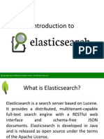 Introduction to Elasticsearch - SpringPeople
