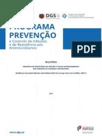 DGS_prevenção e Control de Infeções