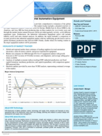 Industrial Automation Equipment Market Tracker 2014