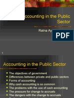 Accounting in Public Sector