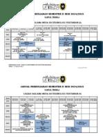 Jadual Perkuliahan Sem II Sesi 2014_15