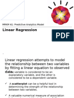 Linear Regression Upload
