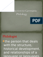 Introduction to Philology