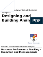 Lecture 8 - Designing and Building Analytics