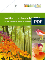 Indikatorenbericht-2010 Nationale Strategie zur Biologischen Vielfalt
