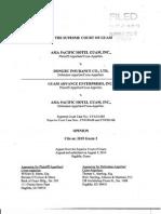 2015 Guam 3 Asia Pacific Hotel v Dongbu Insurance