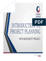INTRODUCTION TO PROJECT PLANNING