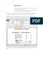 Validación de Datos Excel
