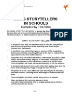 Using Storytellers in Schools