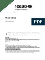 Vga Manual Gv-rx165256d-Rh e