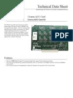 Cronus AIO Card Tech. Data Sheet