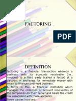 Factoring n Forfaiting