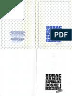 Borac Armije Republike Bosne i Hercegovine (Vojna Biblioteka 1, 1993)