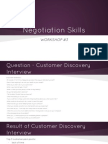 Negotiation Skills WORKSHOP3