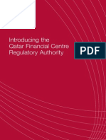 Introducing the Qatar Financial Centre Regulatory Authority