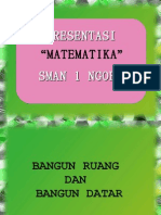 """Presentasi """" Matematika """" Sman 1 Ngoro"""