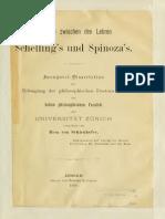 Vergleich Zwischen Den Lehren Schelling's Und Spinoza's (Resa. Von Schrinhofer)