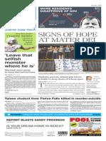 Asbury Park Press front page Thursday, Feb. 5 2015