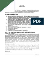 Prefabrication Unit i Introduction