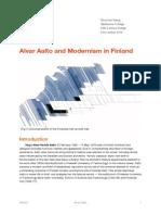 Alvar Aalto Written Report