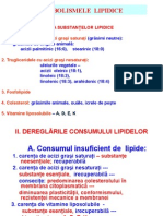 8. Dismetabolismele Lipidice Prel. 2014 Rom