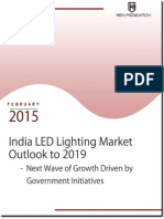 Market Outlook 2015-2019 LED Lighting Market India