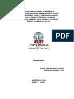 Trabajo Final de Estadística Aplicada (Completo)