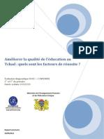Rapport Tchad 2010 Version Provisoire 01-10-2012