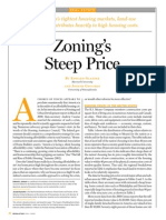 Zoning's Steep Price