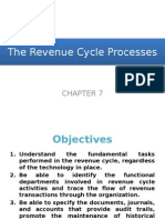 Chapter 7 - The Revenue Cycle Processes (Student Copy)