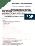 decreto regul 11 98 sobre avaliacão