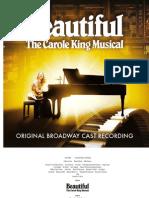 Digital Booklet - Beautiful: The Carole King Musical