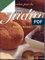 Pasion Por La Cocina Judia Miriam Becker