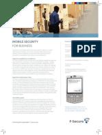 Mobile Security - F-Secure - Consultcorp - distribuidor - antivirus para celular